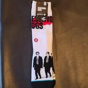 "NWT Stance socks ""Reservoir dogs"" Size- Medium"
